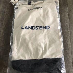 Lands End Canvas Laundry duffle bag